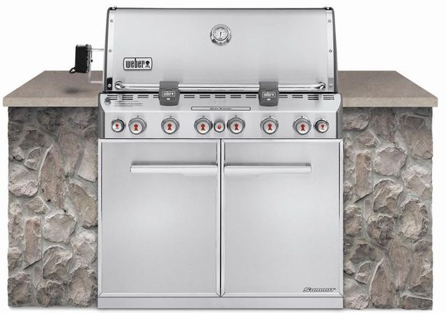 """Weber® Summit® S-660™ Series 42"""" Stainless Steel Built In Gas Grill-7460001"""