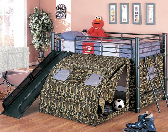 Coaster® Oates Lofted Bed-Twin-7470