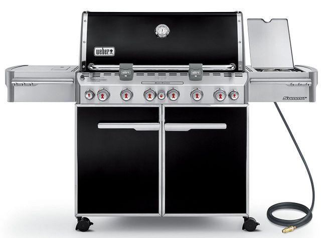 Weber® Summit® E-670™ Black Gas Grill-7471001