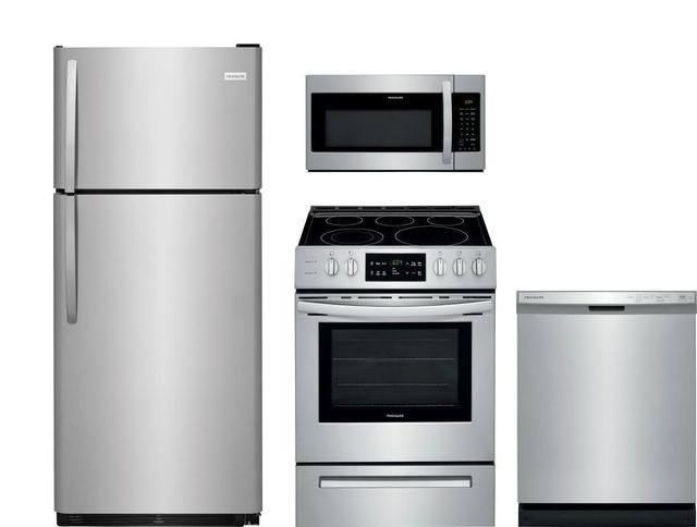 Frigidaire® 4 Piece Stainless Steel Kitchen Package-FRKITFFTR1821TS