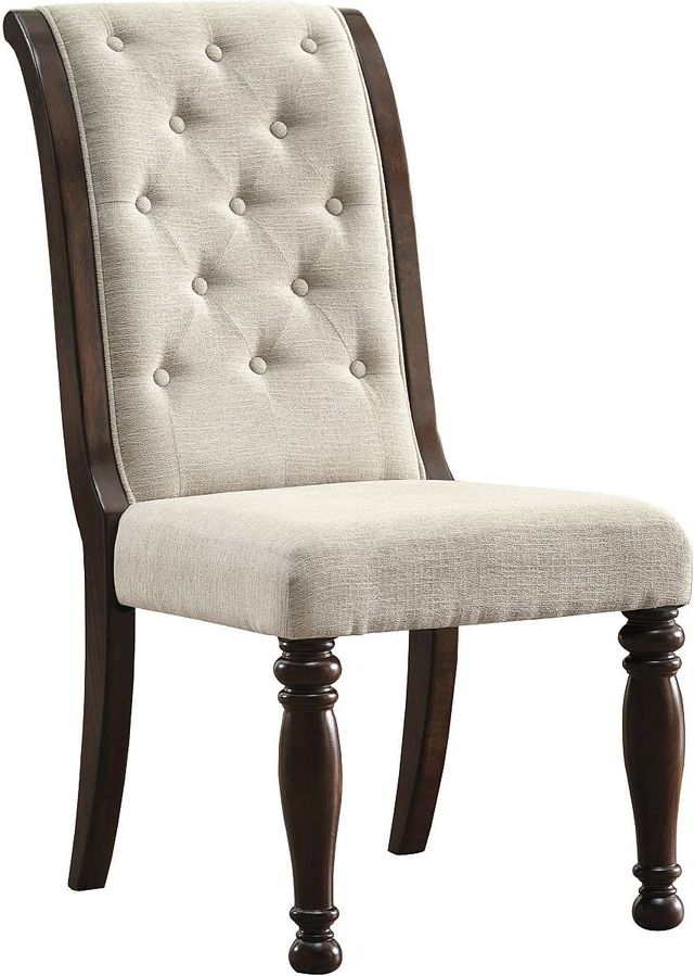 Millennium® By Ashley Porter Rustic Brown Dining Upholstered Side Chair-D697-04