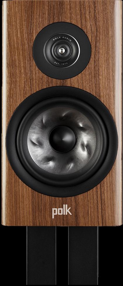"Polk Audio Reserve R200 6.5"" Brown Large Bookshelf Speaker -R200 Brown"