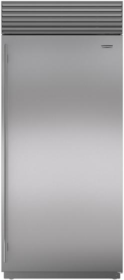 Sub-Zero® 22.6 Cu. Ft. Stainless Steel Upright Freezer-BI-36F/S/PH-RH
