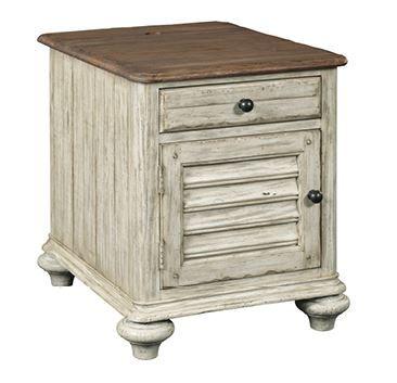 Kincaid Weatherford-Cornsilk Collection Chairside Table-75-026