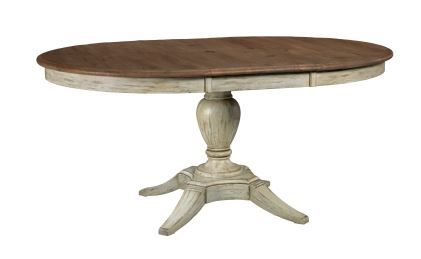 Kincaid Weatherford-Cornsilk Collection Milford Round Dining Table Base-75-052B