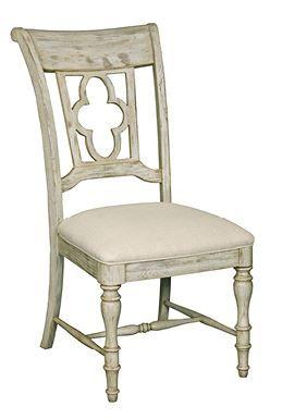 Kincaid Weatherford-Cornsilk Collection Side Chair-75-061