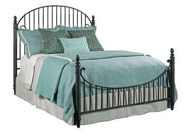 Kincaid Weatherford-Cornsilk Collection Catlins Metal Bed-Queen-75-125