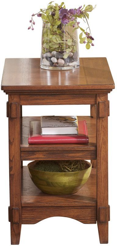 Signature Design by Ashley® Cross Island Medium Brown Chair Side End Table-T719-7