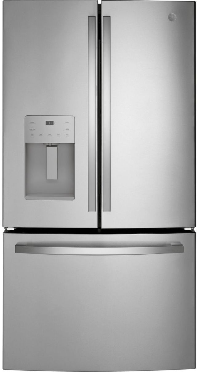 GE® 25.6 Cu. Ft. Fingerprint Resistant Stainless Steel French Door Refrigerator-GFE26JYMFS