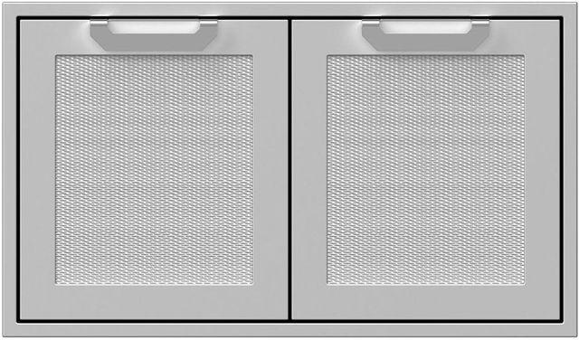 """Hestan Professional 36"""" Outdoor Double Storage Door-Stainless Steel-AGSD36"""