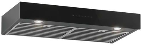 "Best® Ispira 30"" Black Stainless Steel Under Cabinet Range Hood-UCB3I30BLSB"