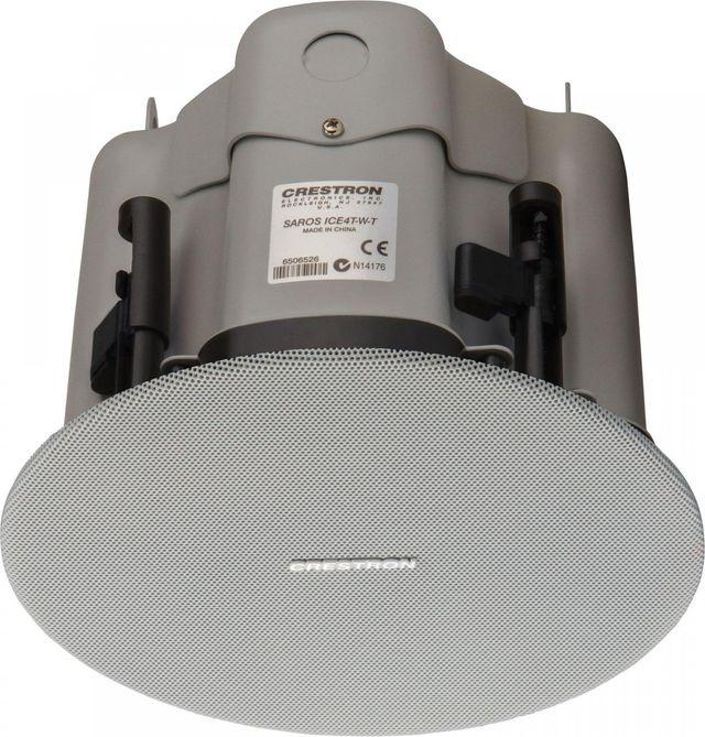 """Crestron® Saros®  Express 4"""" 2-Way In-Ceiling Speaker-White-SAROS ICE4T-W-T-EACH"""