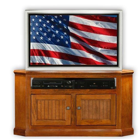 American Heartland Poplar Corner TV Stand-75554