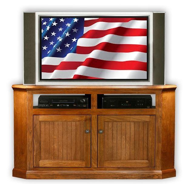 American Heartland Poplar Corner TV Stand-75564