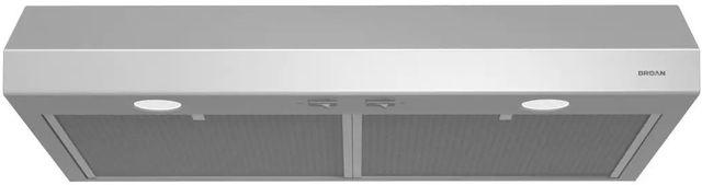 "Broan® Glacier BCSD1 Series 24"" Under Cabinet Range Hood-Stainless Steel-BCSD124SS"