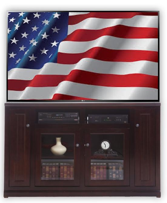 American Heartland Tall TV Console-75863