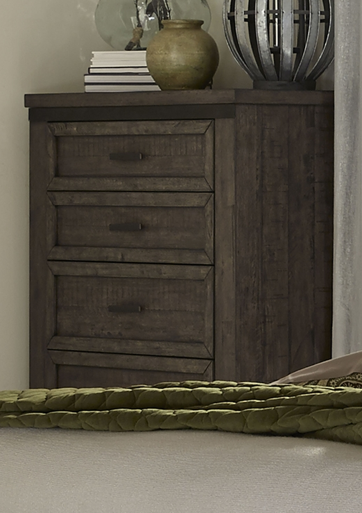 Liberty Furniture Thornwood Hills Rock Beaten Gray 5 Drawer Chest-759-BR41