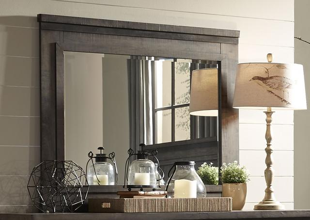 Liberty Furniture Thornwood Hills Rock Beaten Gray Mirror-759-BR51