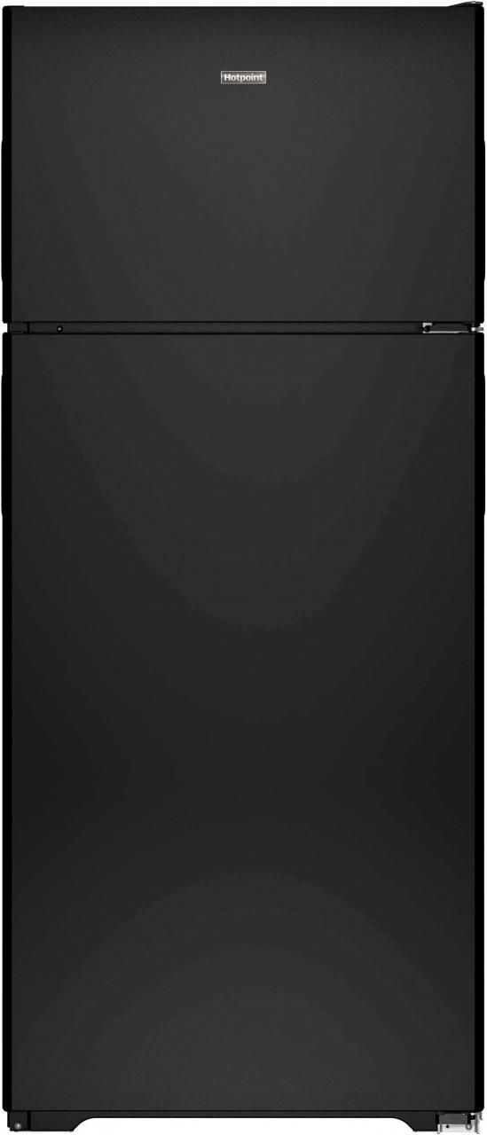Hotpoint® 17.53 Cu. Ft. Black Top Freezer Refrigerator-HPS18BTHBB