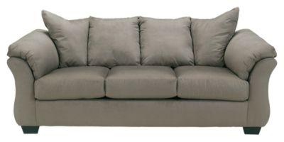 Signature Design by Ashley® Darcy Cobblestone Sofa-7500538