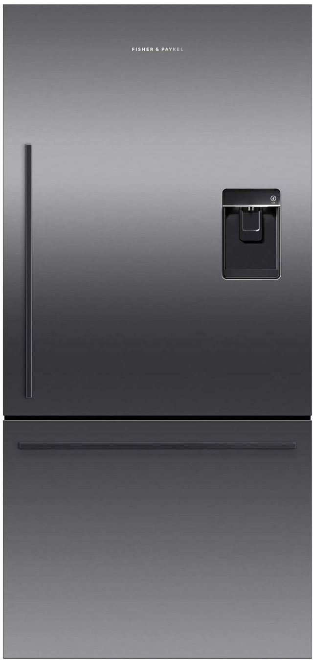 Réfrigérateur à congélateur inférieur à profondeur de comptoir de 32 po Fisher Paykel® de 17,1 pi³ - Blanc-RF170WDRUB5