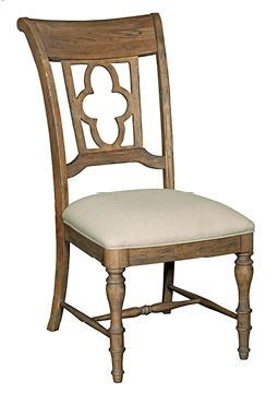 Kincaid Weatherford-Heather Collection Side Chair-76-061