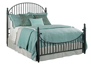 Kincaid Weatherford-Heather Collection Catlins Metal Bed-King-76-126