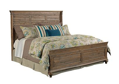 Kincaid Weatherford-Heather Collection Shelter Bed Package-King-76-131P