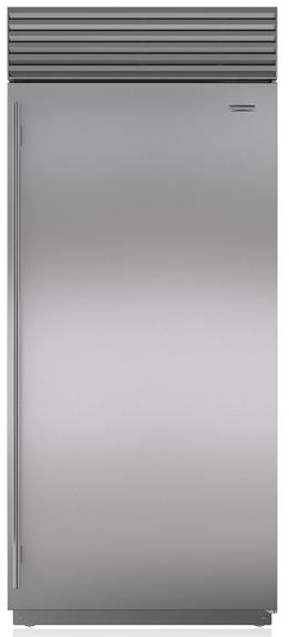 Sub-Zero® 22.6 Cu. Ft. Stainless Steel Upright Freezer-BI-36F/S/TH-RH