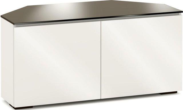 Salamander Designs® Miami 221 CR Corner Cabinet-Gloss Warm White-C/MM221CR/GW
