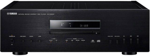 Yamaha® Black Natural Sound CD Player-CD-S3000BL