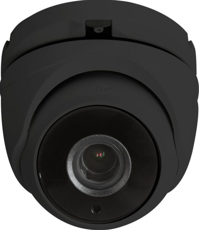 SnapAV Luma Surveillance™ 310 Series Black Turret Analog Camera-LUM-310-TUR-A-BL