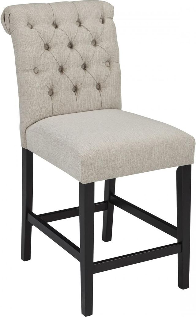 Signature Design by Ashley® Tripton Linen Counter Height Bar Stool-D530-124