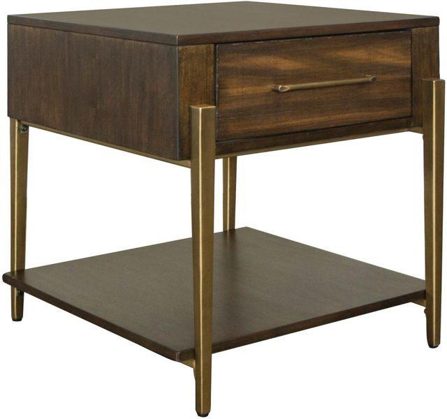 Riverside Furniture Dekker Rectangular Side Table-43209