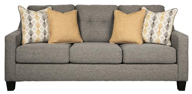 Canapé-lit Daylon en tissu gris Benchcraft®-4230439