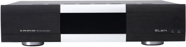 Elan® Black Multi Zone Audio Matrix Amplifier-EL-IPD-MTX-8CH