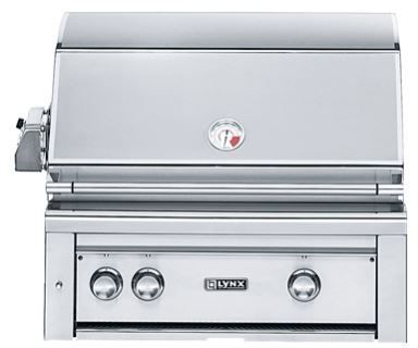 """Lynx Professional Series 30"""" Built In Grill-L30PSR-2NG"""