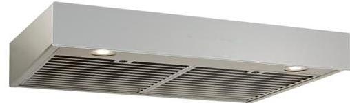 "Best® Ispira 30"" Black Stainless Steel Without Glass Under Cabinet Range Hood-UCB3I30SBN"
