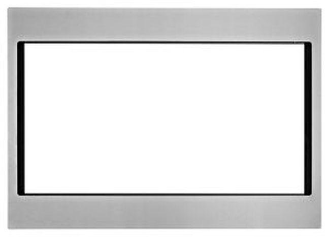 "KitchenAid® 27"" Fingerprint Resistant Stainless Steel Countertop Microwave Trim Kit-MK2227AZ"