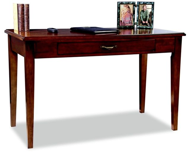 """Durham Furniture Solid Accents Bordeaux 48"""" Contemporary Writing Desk-900-211A"""