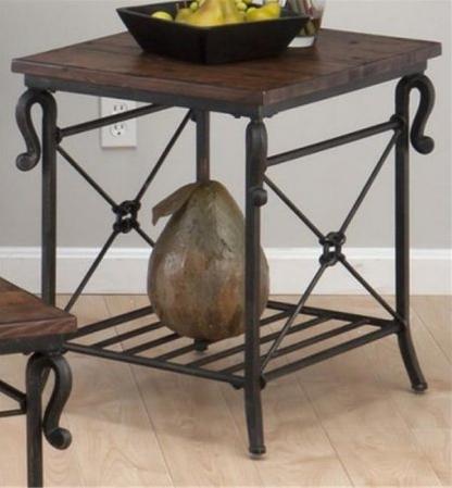 Jofran Inc. Rutledge Pine Rectangular End Table-772-3