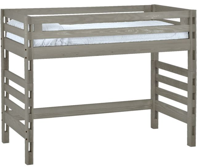 Crate Designs™ Storm Twin Ladder End Loft Bed-S4005A