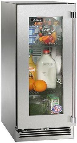 Perlick® Signature Series Outdoor Refrigerator-Panel Ready-HP15RO-3-4L