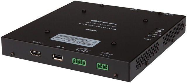Crestron® DigitalMedia 8G™ Single-Mode Fiber Receiver & Room Controller-DM-RMC-SCALER-S2