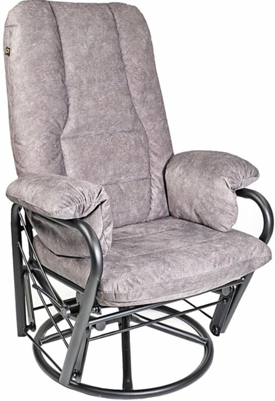 Fauteuil inclinable EKO en tissu gris PEL International®-186012
