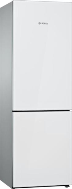 "Bosch 800 Series 24"" White Counter Depth Bottom Freezer Refrigerator-B10CB81NVW"