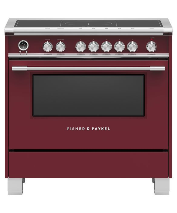 Cuisinière électrique encastrée Fisher Paykel® de 4,9 pi³ de 36 po - Rouge-OR36SCI6R1