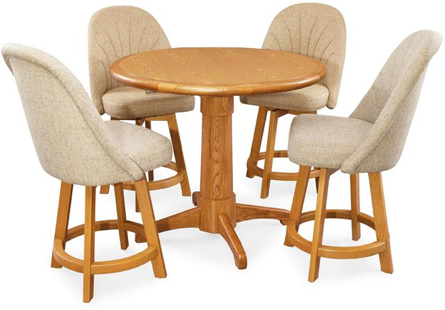 Chromcraft™ Dining Table-CD4242M+CD4236M