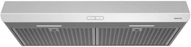 "Broan® Sahale BKDEG1 Series 30"" Under Cabinet Range Hood-Stainless Steel-BKDEG130SS"