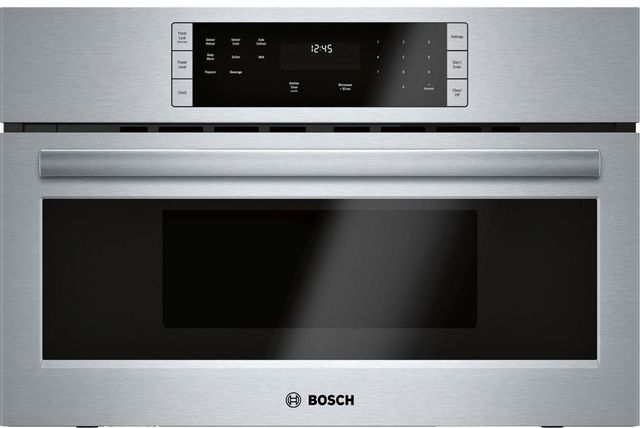 Bosch 500 Series Built In Microwave Oven-Stainless Steel-HMB50152UC